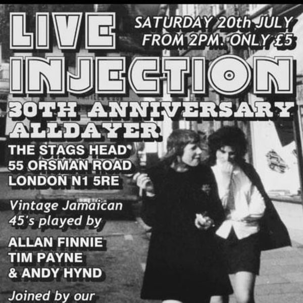 Live Injection at The Stag's Head promotional image