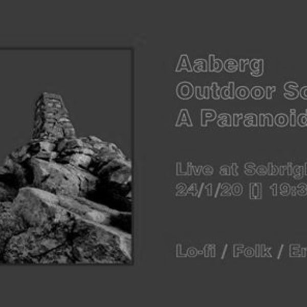 Aaberg, A Paranoid King & Outdoor Scene at Sebright Arms promotional image