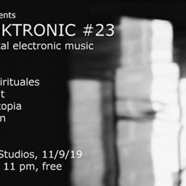 Skronktronic #23 at New River Studios promotional image