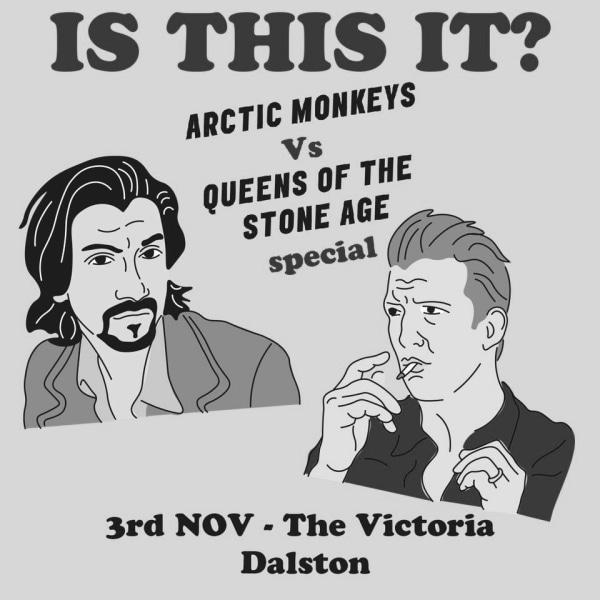 Dalston Indie Disco / Arctic Monkeys vs. QOTSA Special at The Victoria promotional image