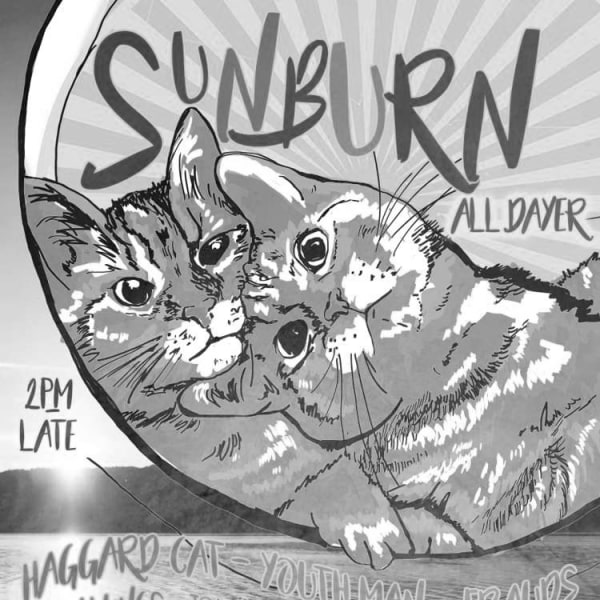 Sunburn Alldayer: Haggard Cat, Youth Man and many more  at Windmill Brixton promotional image