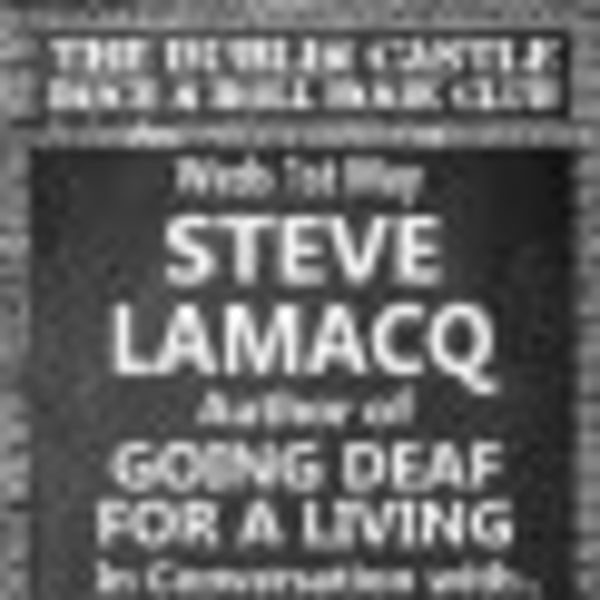 Steve Lamacq + Going Deaf For A Living + Rock N Roll Book Club at Dublin Castle promotional image