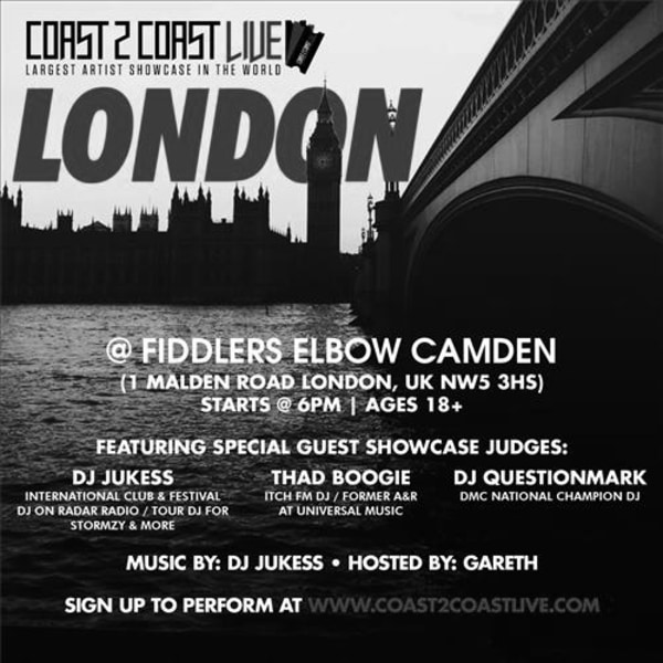 Coast 2 Coast LIVE (U.S.A.) at The Fiddler's Elbow promotional image