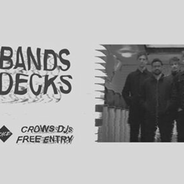 All Bands on Decks: Crows DJ set (free entry) at Shacklewell Arms promotional image