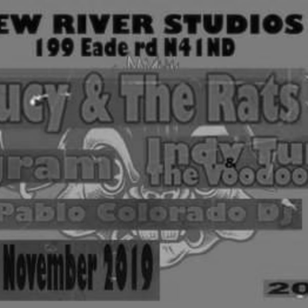 Lucy & The Rats Program Indy Tumbita & The Voodoo Bandits at New River Studios promotional image
