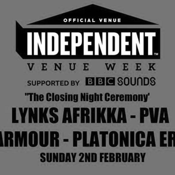 #IVW20 - Lynks Afrikka, PVA, Silkarmour, Platonica Erotica  at Windmill Brixton promotional image