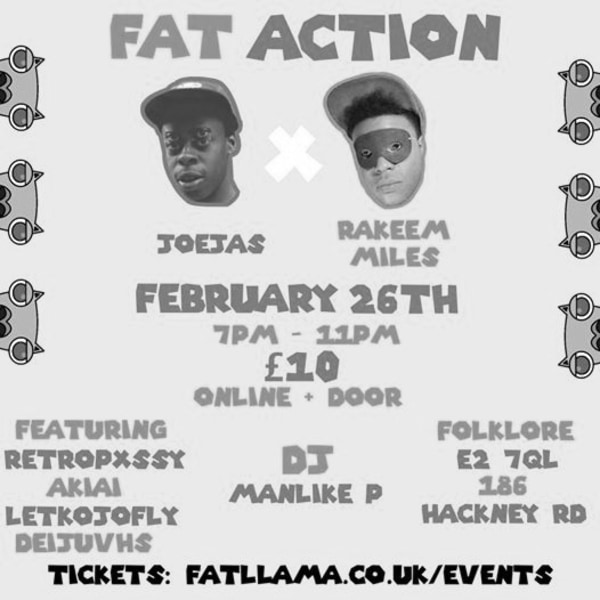 Fat Action at Folklore promotional image
