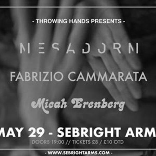 Mesadorm ✮ Fabrizio Cammarata ✮ Micah Erenberg | Sebright Arms at Sebright Arms promotional image