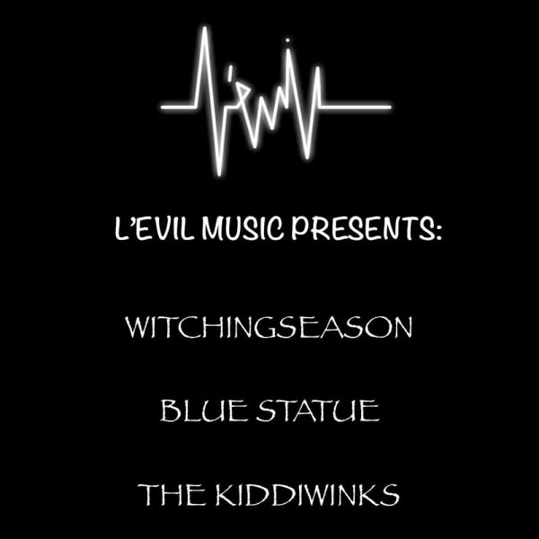 *** L'Evil Music Presents *** at The Fiddler's Elbow promotional image