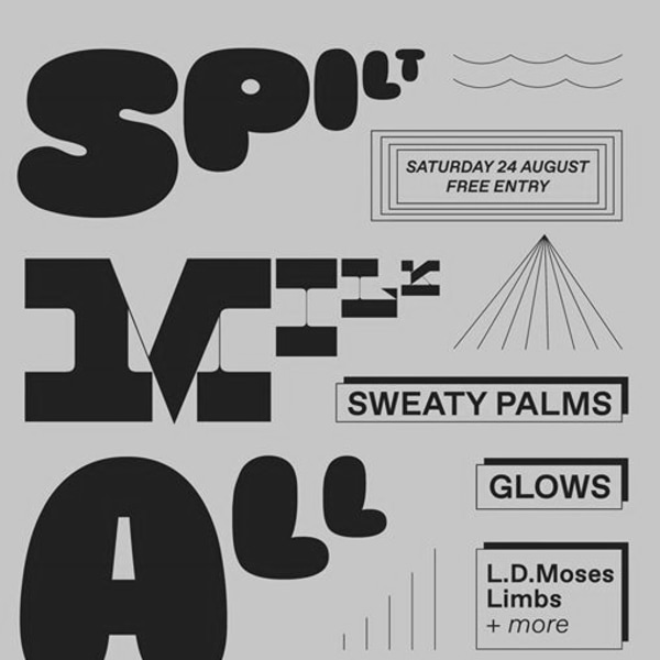 Bank Hol Party w/ Sweaty Palms x Glows at Sebright Arms promotional image