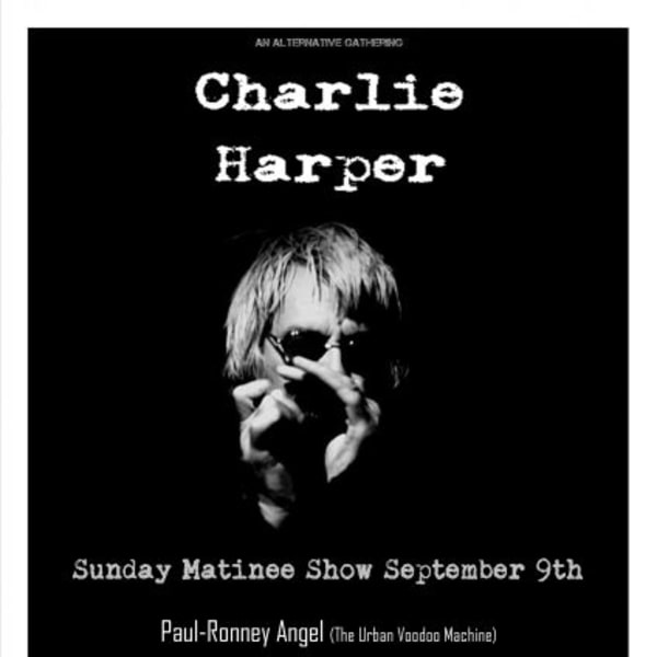 Charlie Harper Solo Matinee Show at New Cross Inn promotional image