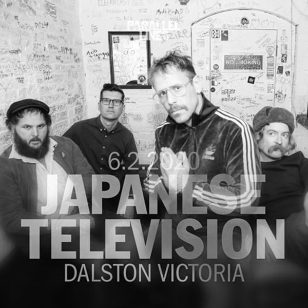 Parallel Lines Presents Japanese Television at The Victoria promotional image
