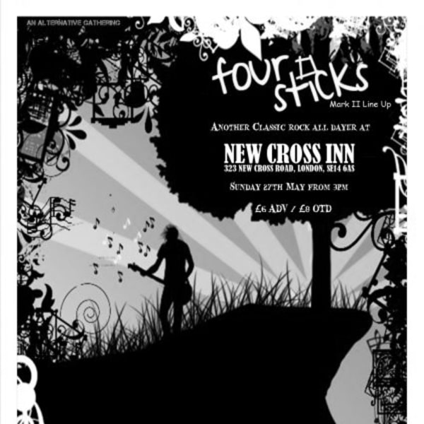 Four Sticks II : Thirteen Stars / Liberty Slaves and Many More at New Cross Inn promotional image