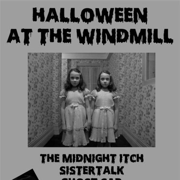 Halloween: The Midnight Itch, Sistertalk, Ghost Car, Italia 90, Rattletooth  at Windmill Brixton promotional image