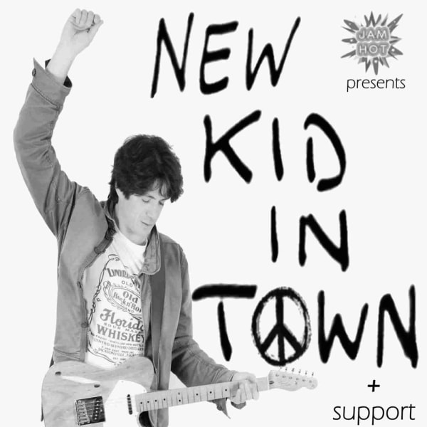 JAM HOT presents NEW KID IN TOWN plus support at The Fiddler's Elbow promotional image