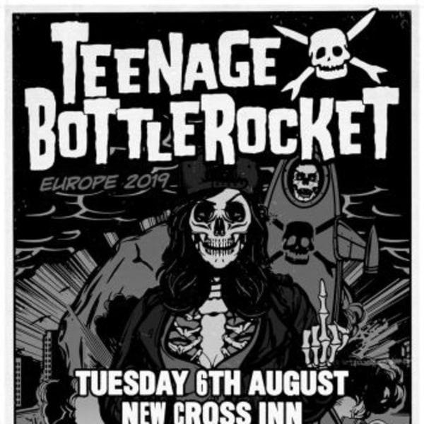 Teenage Bottlerocket at New Cross Inn promotional image