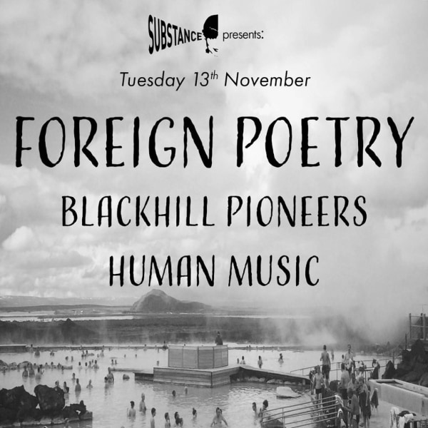 Substance presents - Foreign Poetry plus special guests at The Victoria promotional image