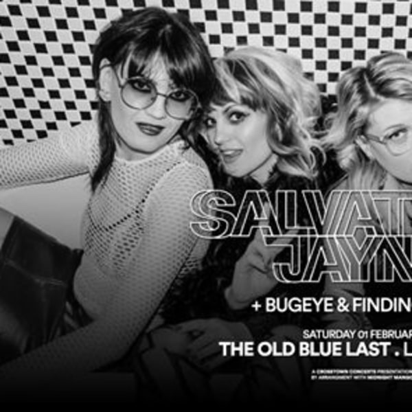 Salvation Jayne at The Old Blue Last | London at The Old Blue Last promotional image
