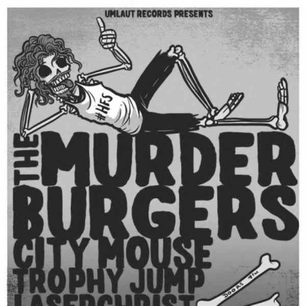 The Murderburgers at New Cross Inn promotional image