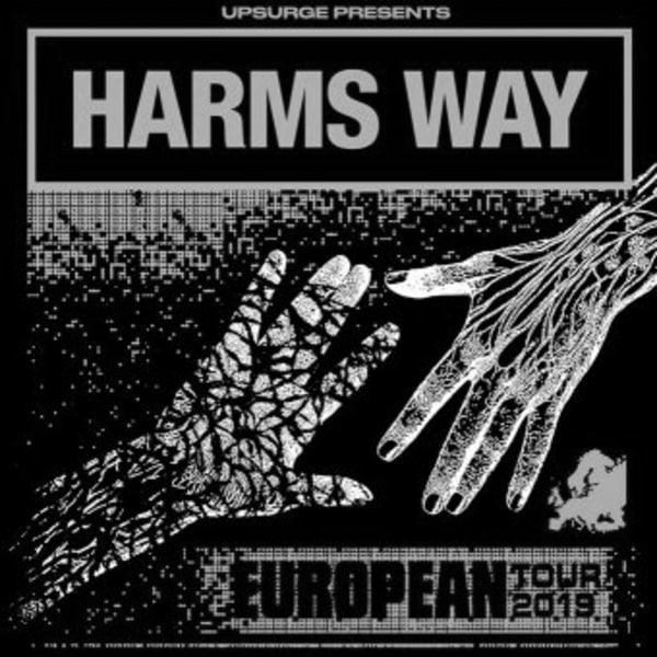 Harms Way + Leeched, Extinction AD & Chamber at New Cross Inn promotional image