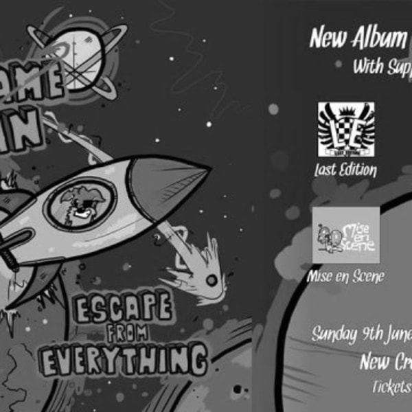 Codename Colin - Escape From Everything London Album Launch at New Cross Inn promotional image