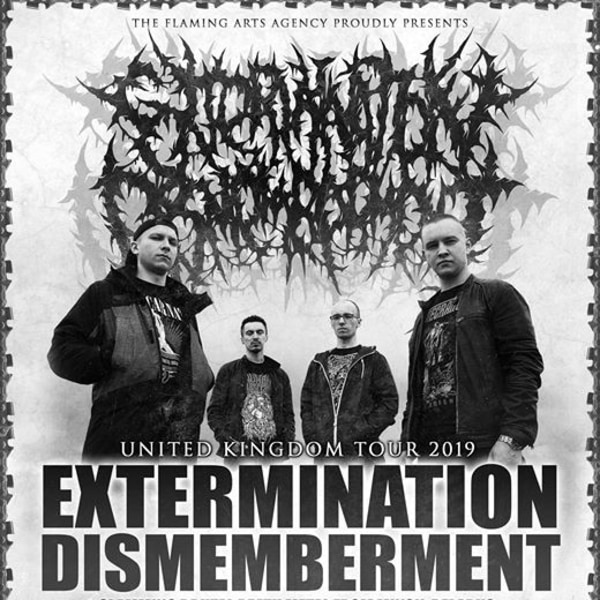Extermination Dismemberment London at New River Studios promotional image