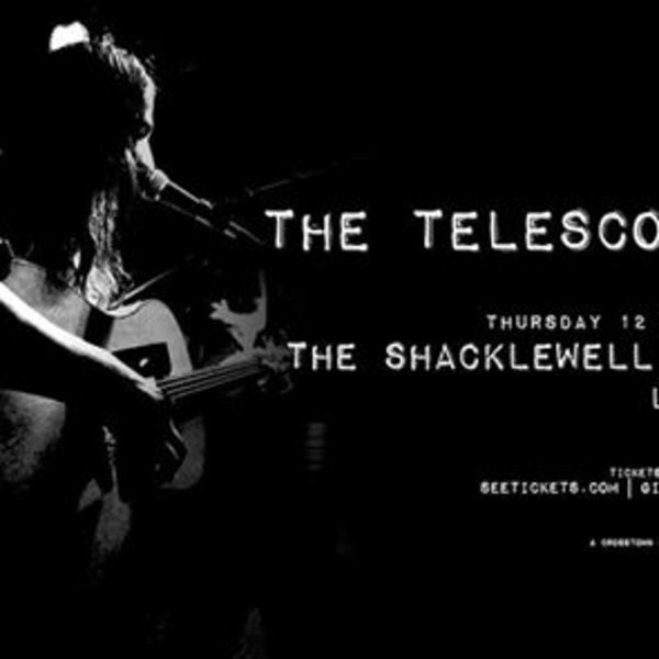 The Telescopes / London at Shacklewell Arms promotional image