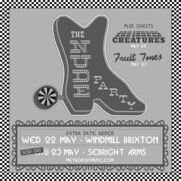 The Nude Party (USA) + Creatures  at Windmill Brixton promotional image