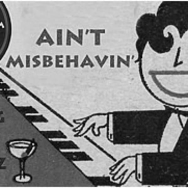 Ain't Misbehavin' - May 			 at Mascara Bar promotional image