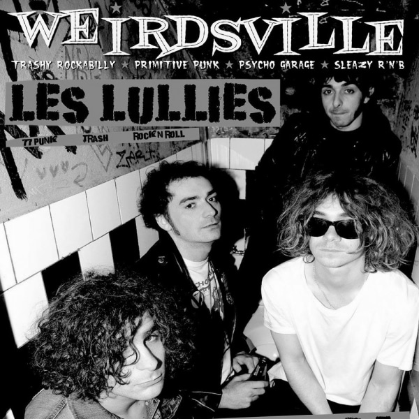 Weirdsville-Les Lullies, Lucy & the Rats + DJs at The Fiddler's Elbow promotional image