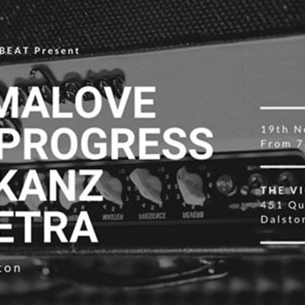 Dramalove / Bad Progres / The Kanz / Of Petra live in Dalston at The Victoria promotional image