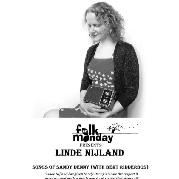 Linde Nijland – songs of Sandy Denny (with Bert Ridderbos) at The Harrison promotional image