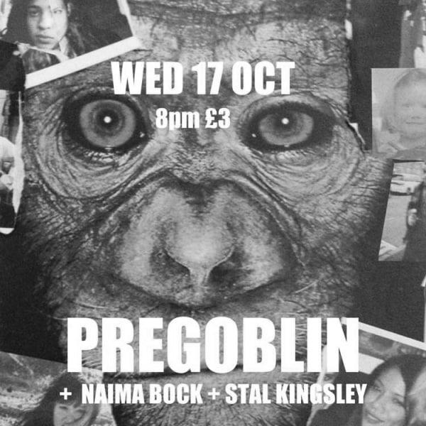 Pregoblin, Naima Bock, Stal Kingsley,   at Windmill Brixton promotional image