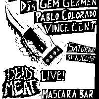 KILLED BY DEAF #1 (free entry)  at Mascara Bar promotional image