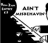 Ain't Misbehavin' - December 			 at Mascara Bar promotional image