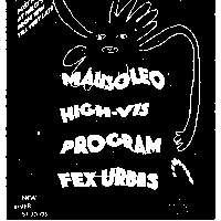 Mausoleo (Spain), High-Vis, Program, Fex Urbis at New River Studios promotional image