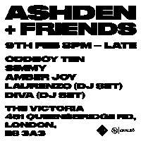 The Victoria presents Ashden + friends at The Victoria promotional image