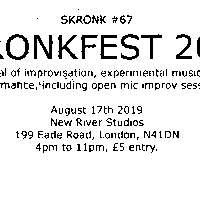 Skronkfest 2019 at New River Studios promotional image