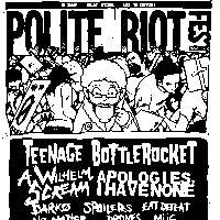 Polite Riot Festival 2018 at New Cross Inn promotional image