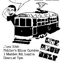 Paddy McCaddy And the Caddilacs + Luke Seymoup + Dylan J Rocha + Guests at The Fiddler's Elbow promotional image