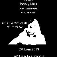 Lost Horizons presents Becky Mills support Lorraine Wood at The Harrison promotional image