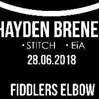 DiscoverNü Live is back with indie/pop night featuring Hayden Brenen, STITCH and EiA.  FREE TICKETS AVAILABLE at The Fiddler's Elbow promotional image