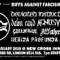 Riffs Against Fascism at New Cross Inn promotional image