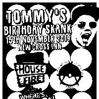 Tommy's Birthday Skank! at New Cross Inn promotional image