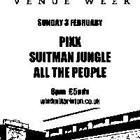 #IVW19 Day 7: Pixx + Suitman Jungle + All The People  at Windmill Brixton promotional image