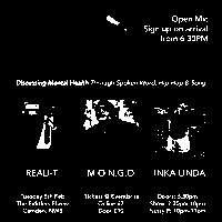 Mind Over Matter: Reali-T, Inka Linda & MONGO at The Fiddler's Elbow promotional image