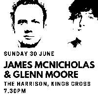 Edinburgh Previews: James McNicholas & Glenn Moore at The Harrison promotional image