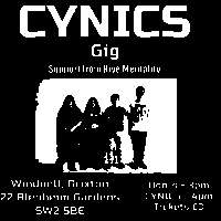 Cynics + Hive Mentality  at Windmill Brixton promotional image