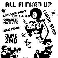 All Funked Up : An evening of funky tunes at New Cross Inn promotional image