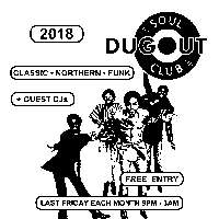 Dugout Soul Club 29th June  at Mascara Bar promotional image